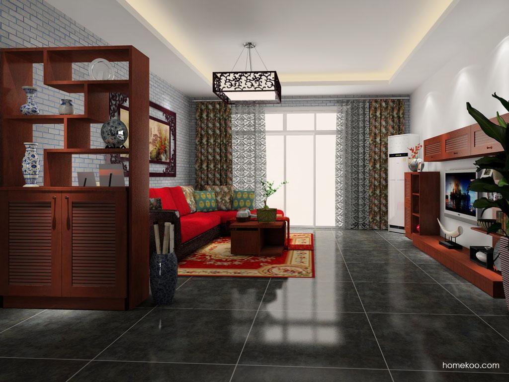 新中式主义客厅家具D9188