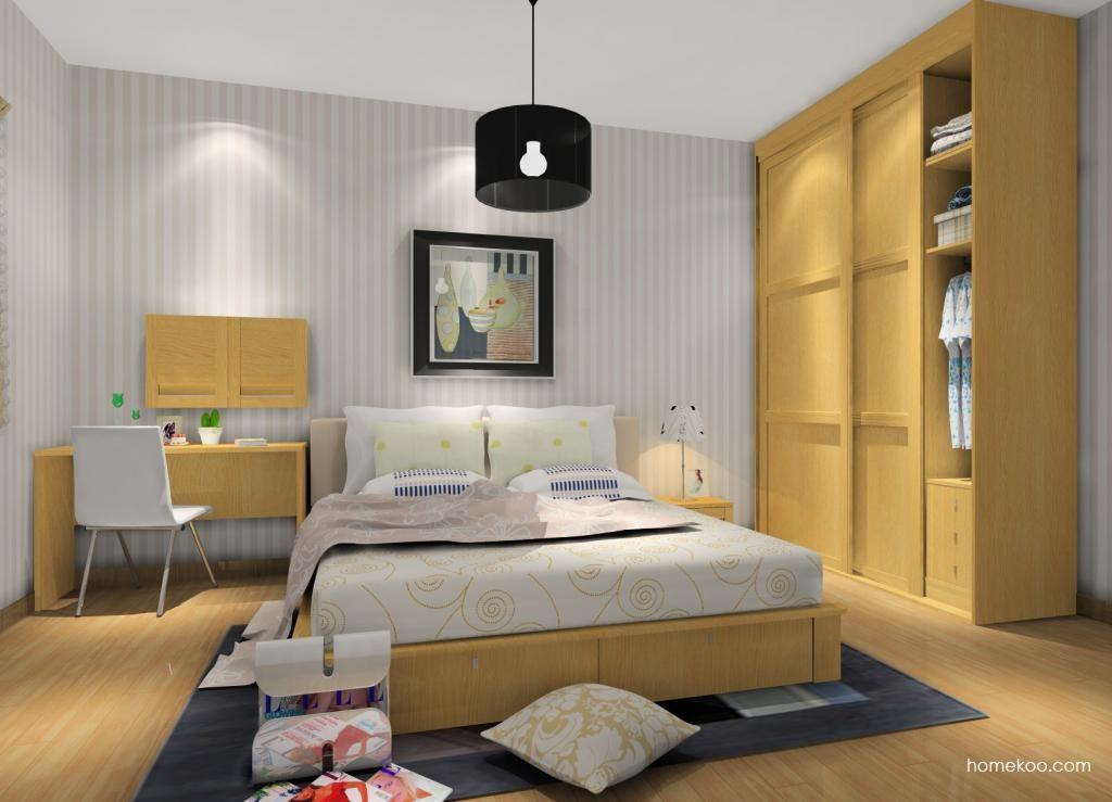 丹麦本色卧房家具A12123