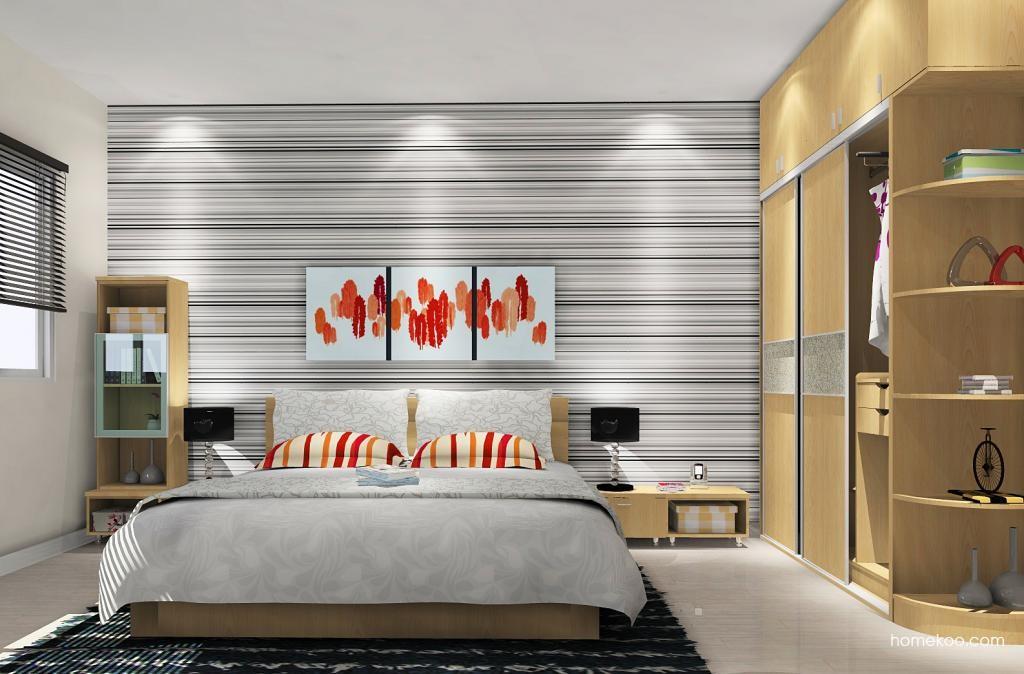 新实用主义卧房家具A12167
