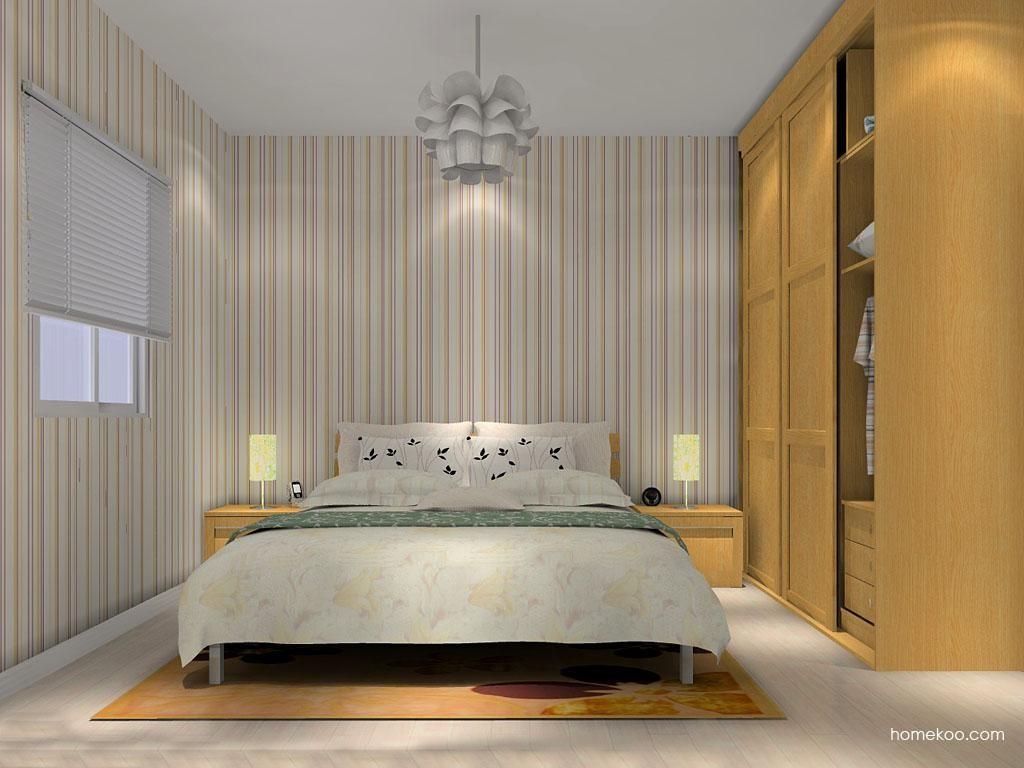 丹麦本色卧房家具A12177