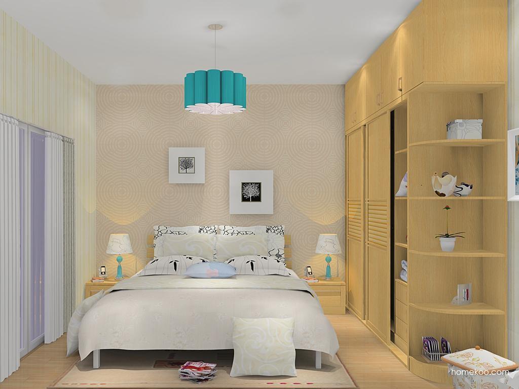 丹麦本色卧房家具A12170