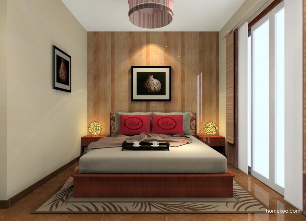 新中式主义卧房家具A12196