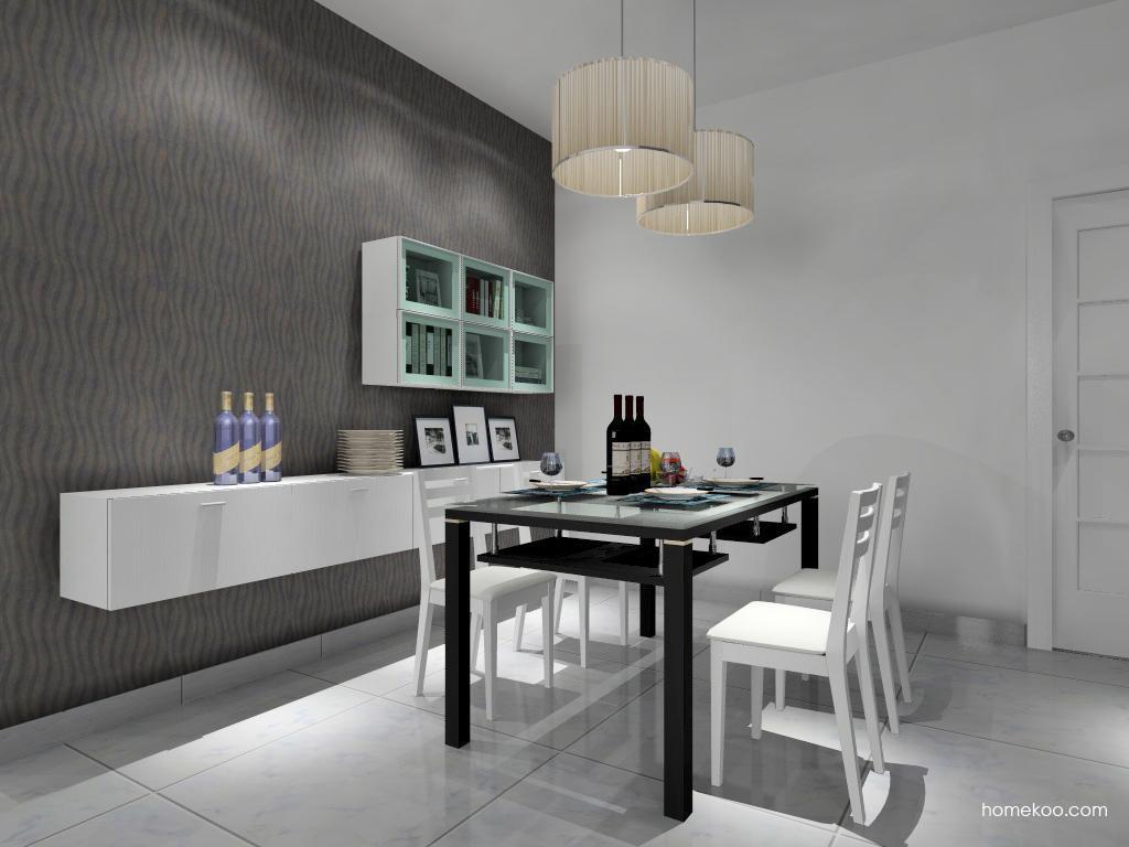 新实用主义餐厅家具E9226