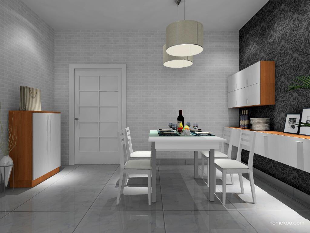 新实用主义餐厅家具E9224