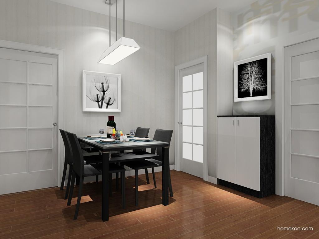 简约主义餐厅家具E9236