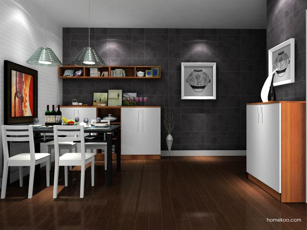 新实用主义餐厅家具E9258