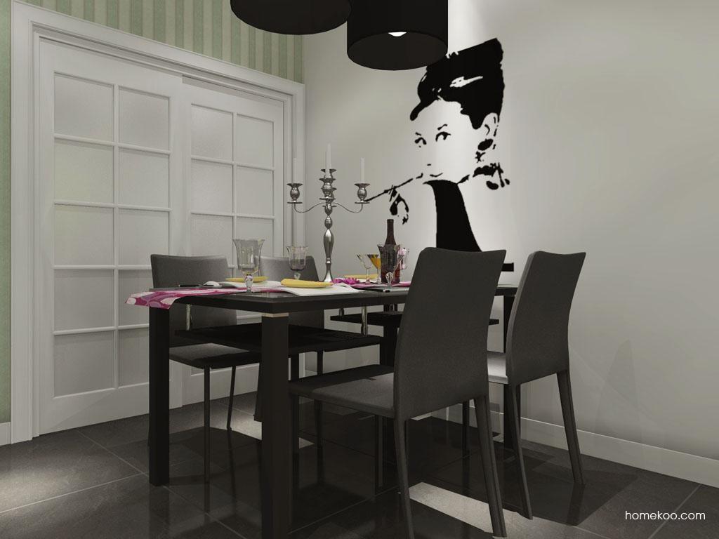 浪漫主义餐厅家具E9250