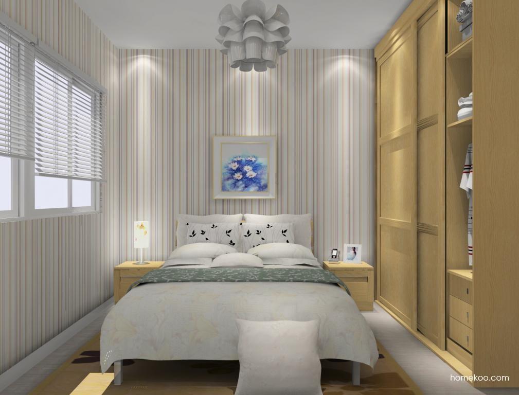 丹麦本色卧房家具A12287