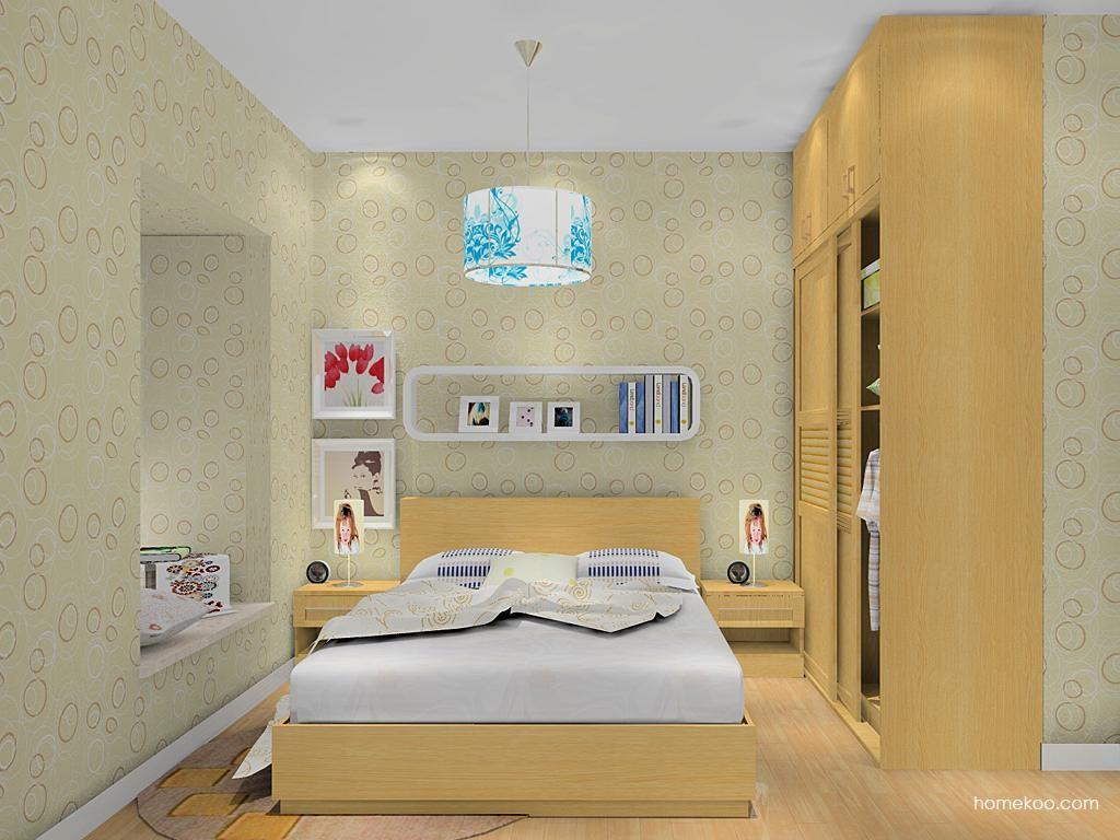 丹麦本色卧房家具A12321