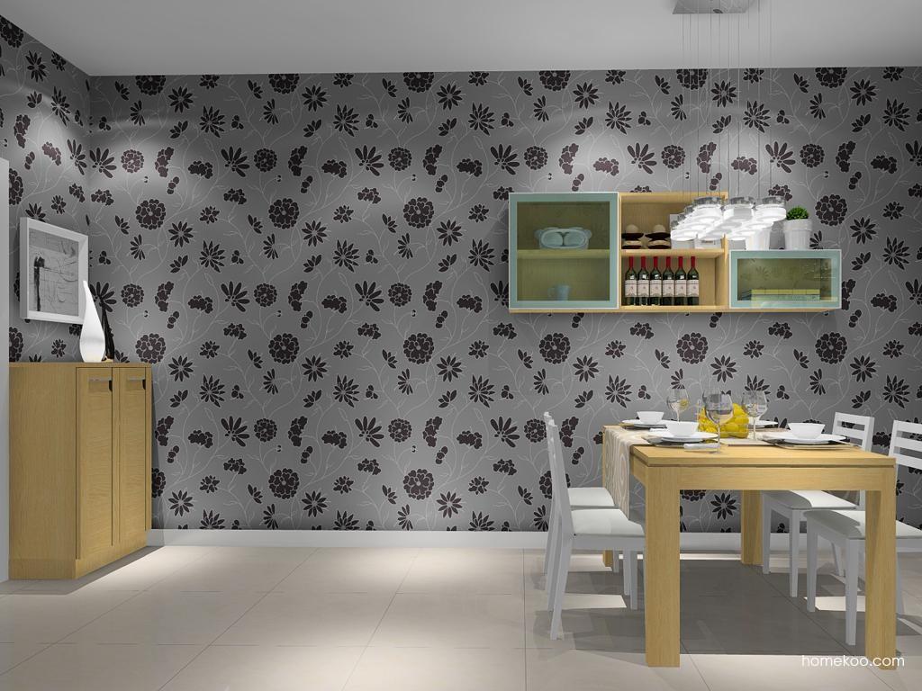 丹麦本色餐厅家具E9262