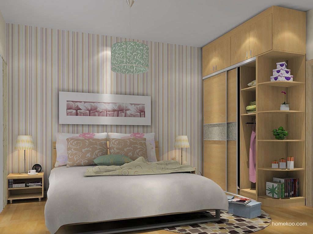 新实用主义卧房家具A12366