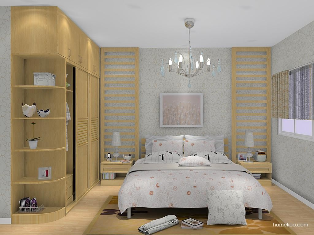 丹麦本色卧房家具A12433
