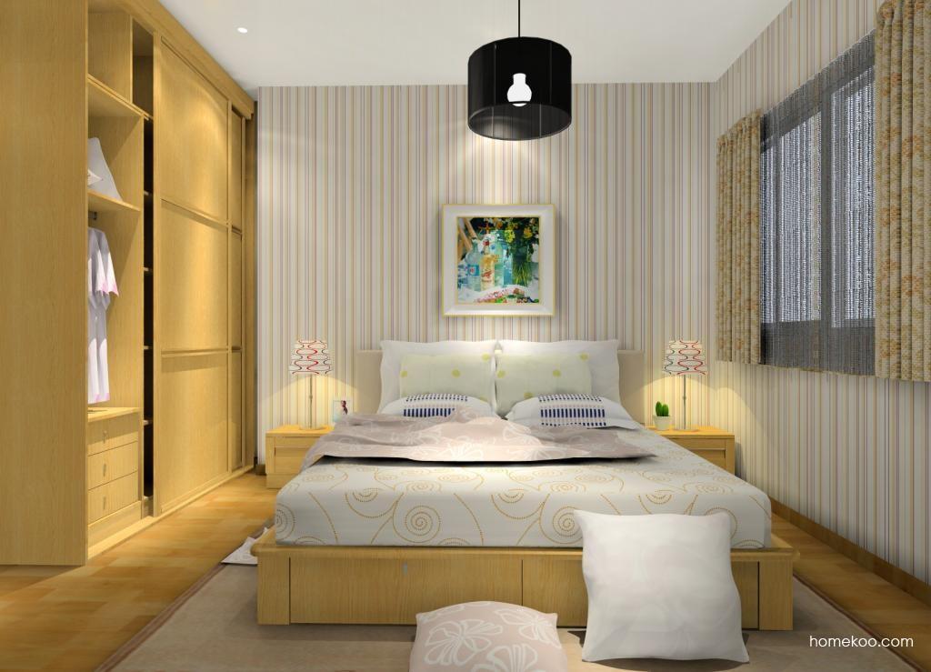 丹麦本色卧房家具A12453