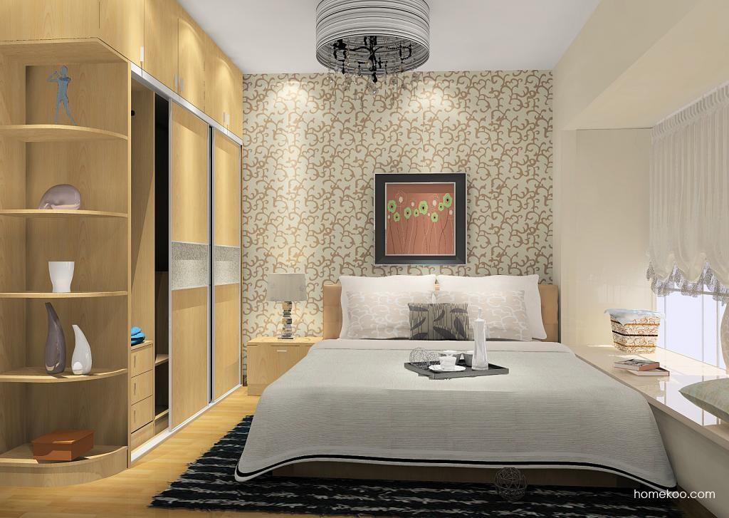 新实用主义卧房家具A12430
