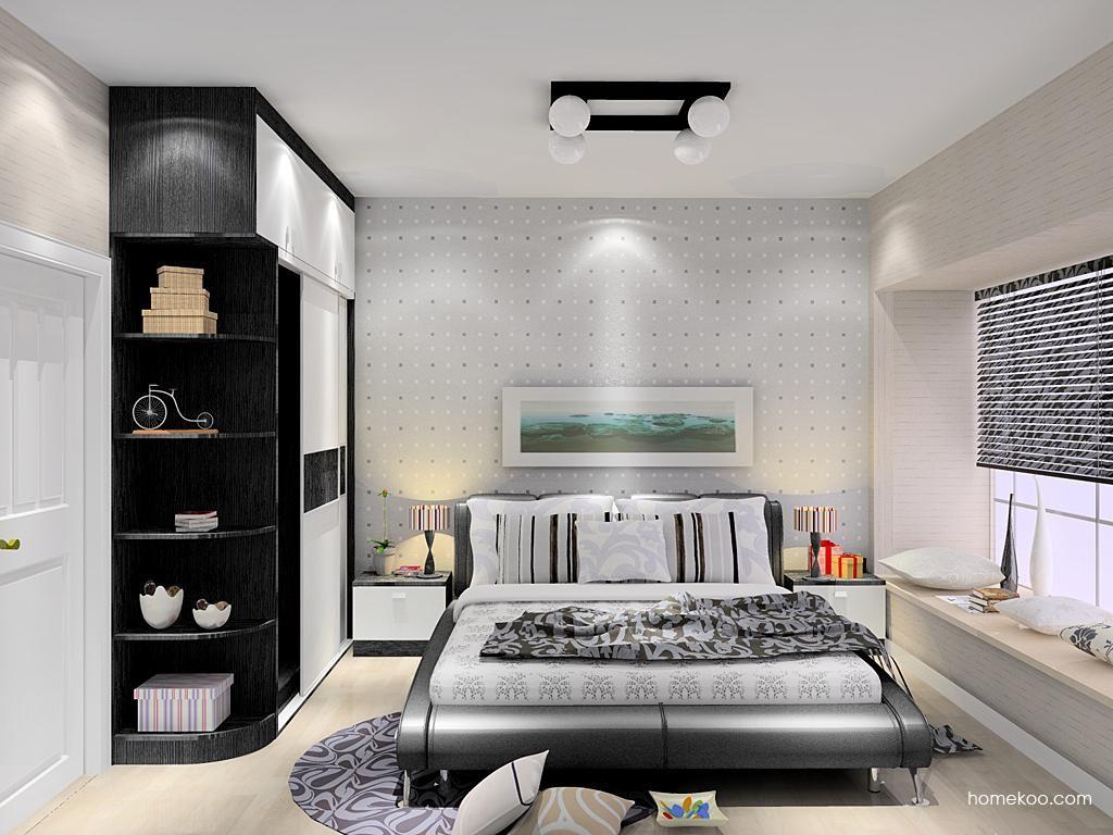 简约主义卧房家具A12481