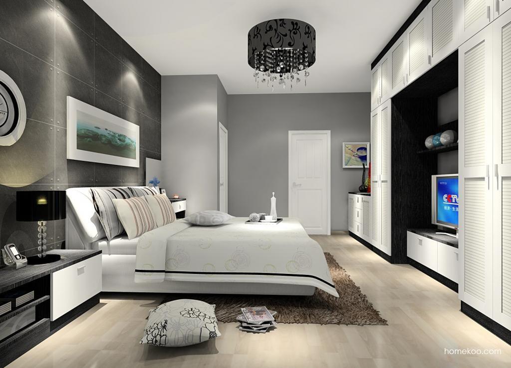 简约主义卧房家具A12562