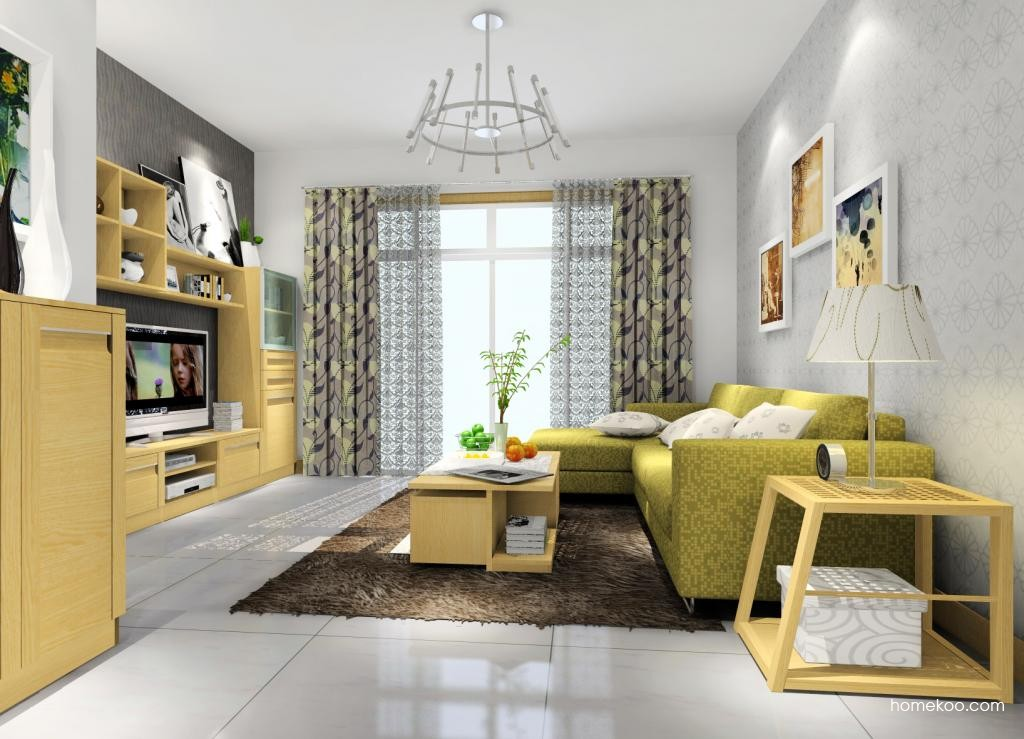 丹麦本色客厅家具D9374