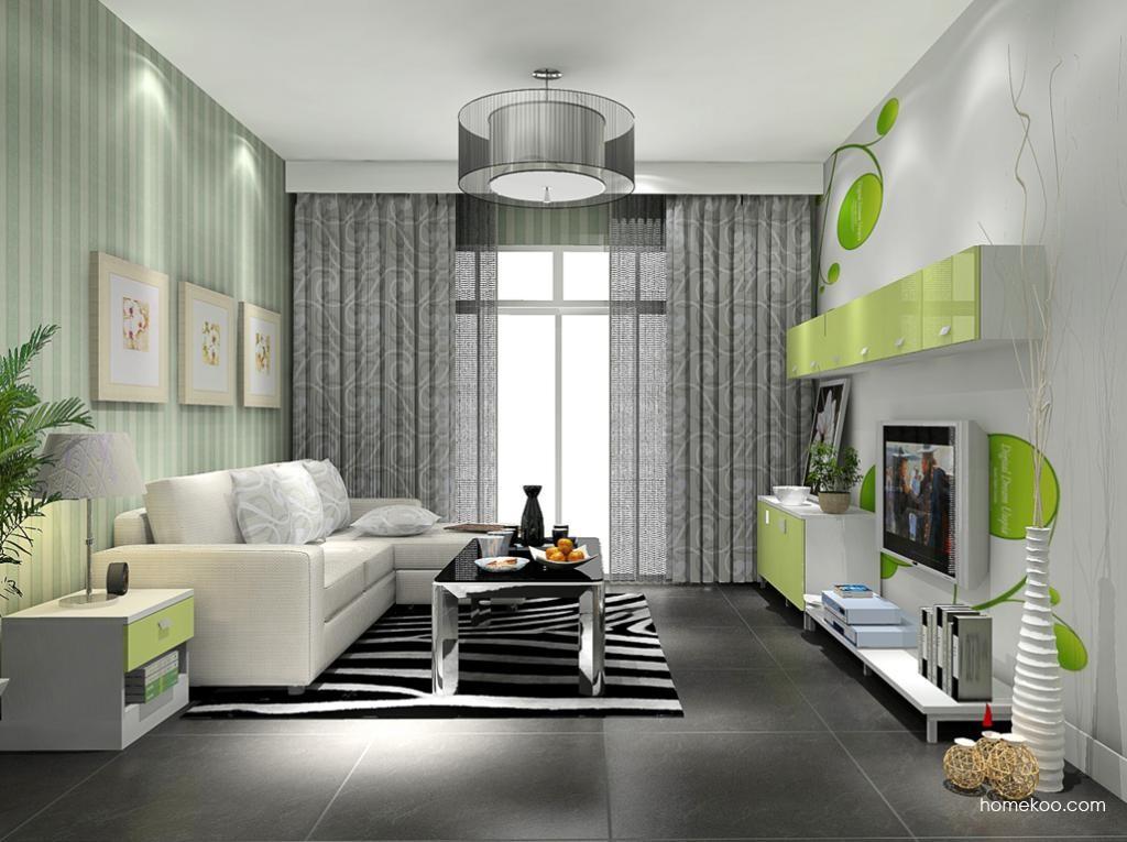 浪漫主义客厅家具D9361