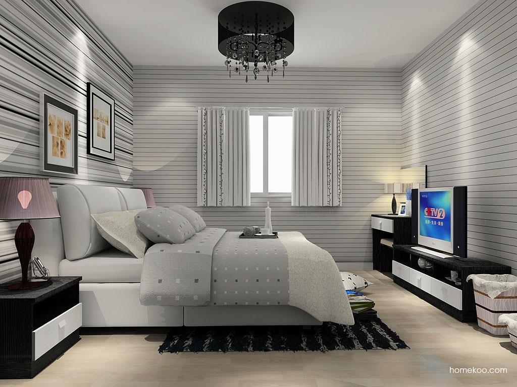 简约主义卧房家具A12652