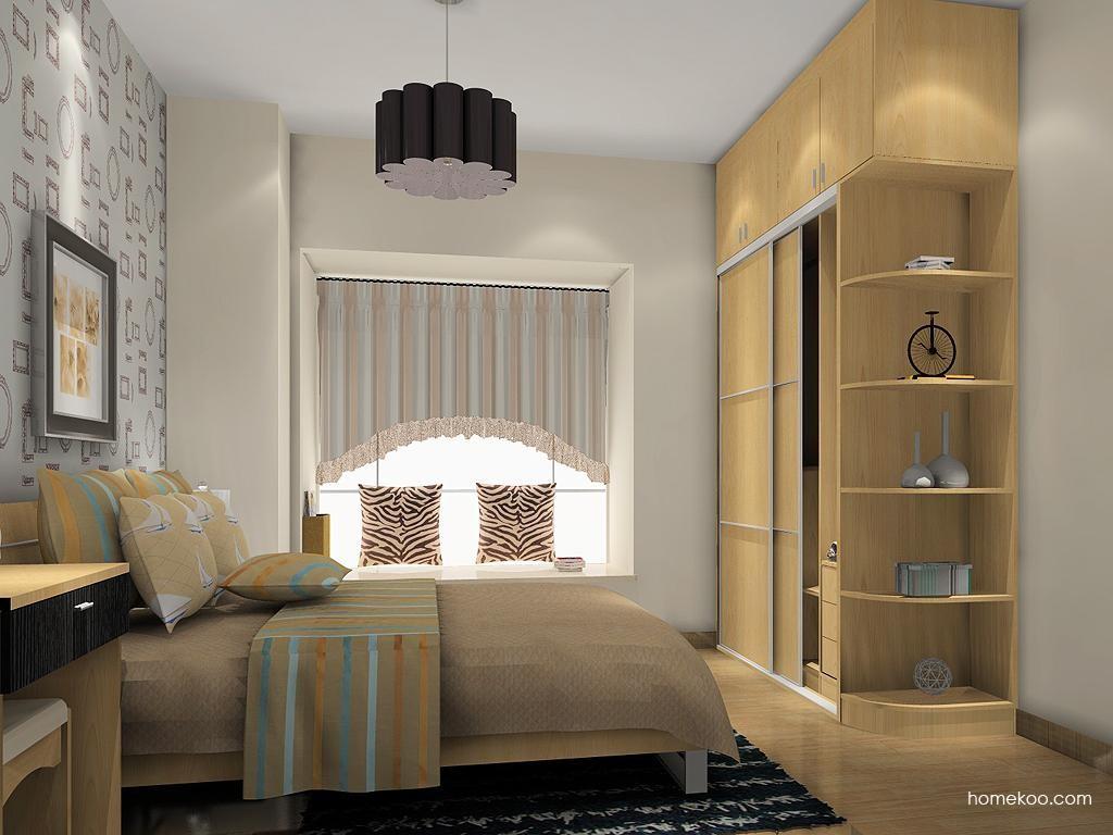 新实用主义卧房家具A12748