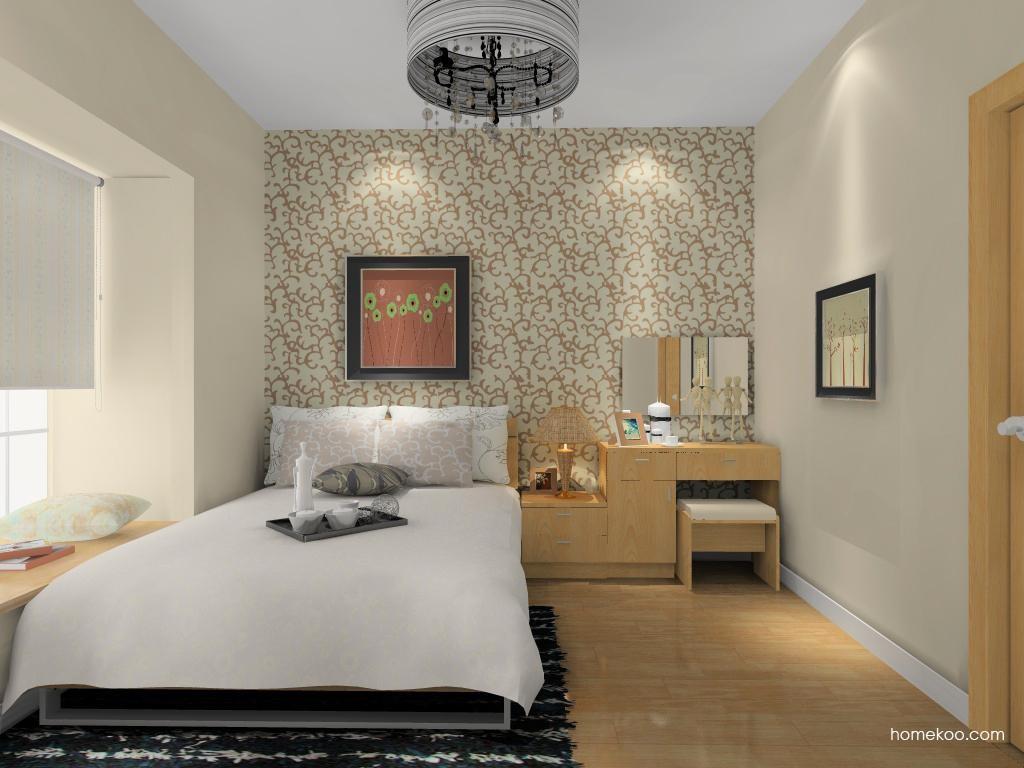 新实用主义卧房家具A12763