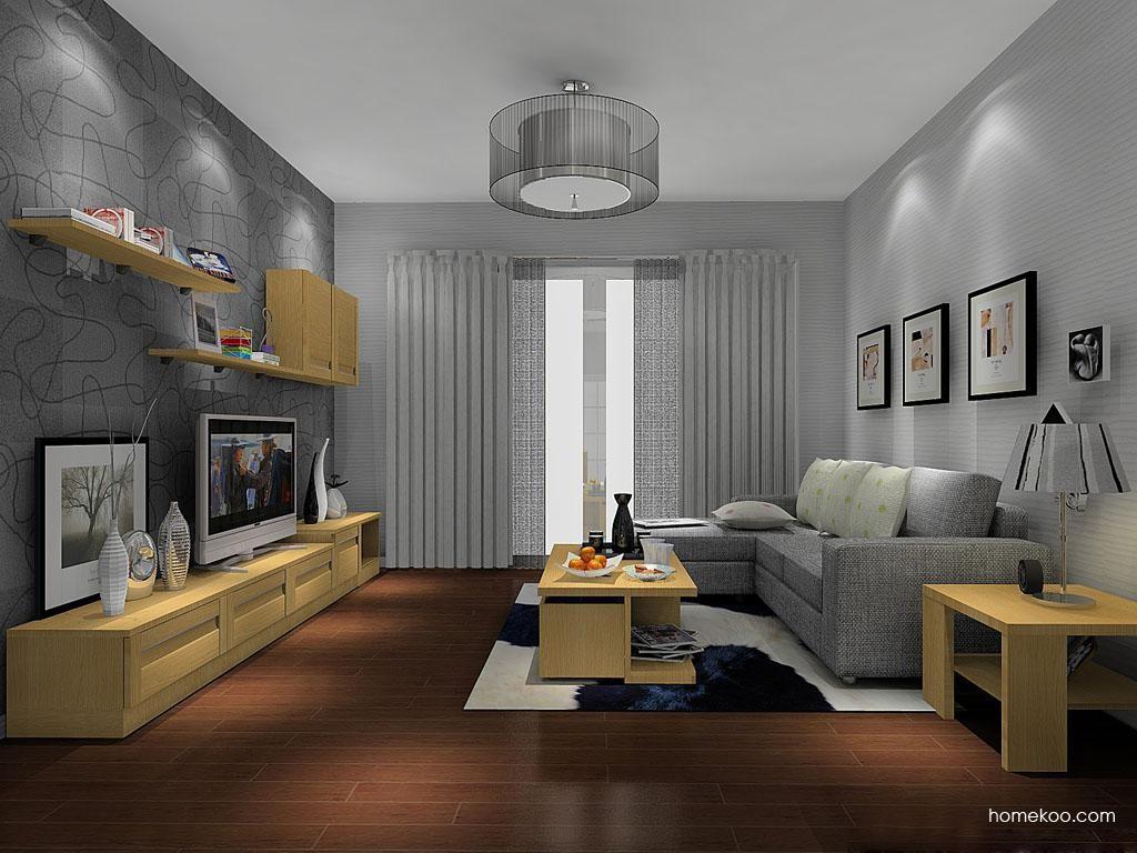 丹麦本色客厅家具D11530