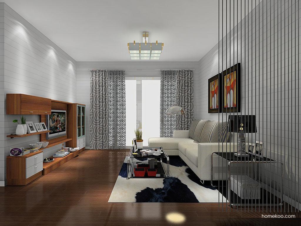 新实用主义客厅家具D11529