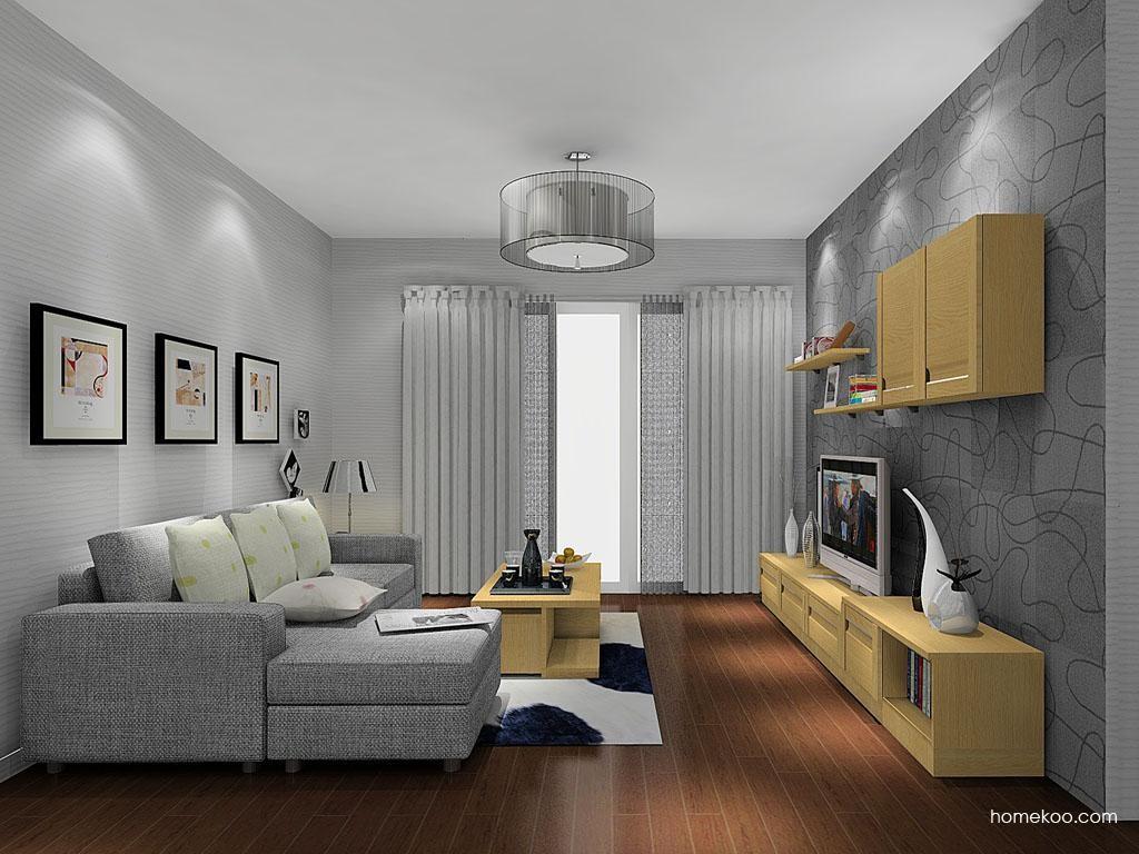 新实用主义客厅家具D11570