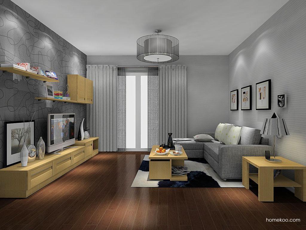 丹麦本色客厅家具D11569