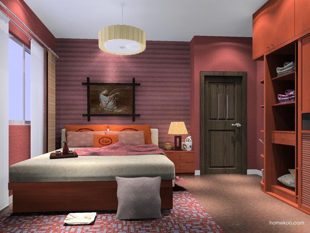 新中式主义卧房家具A13092