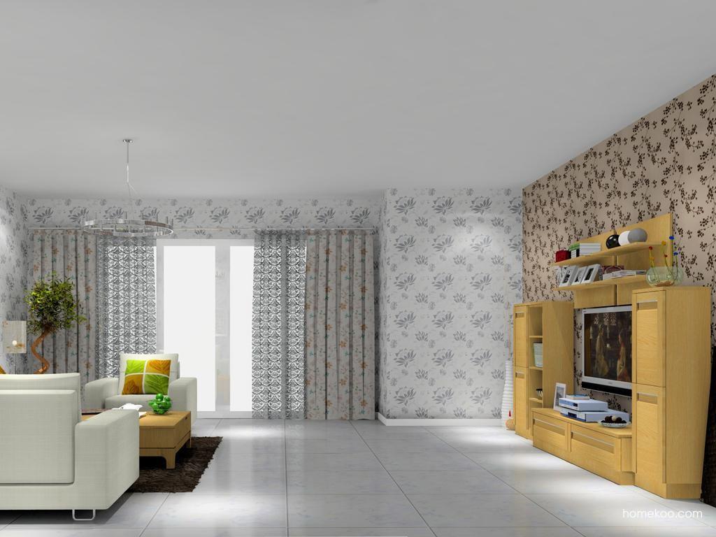 丹麦本色客厅家具D11954