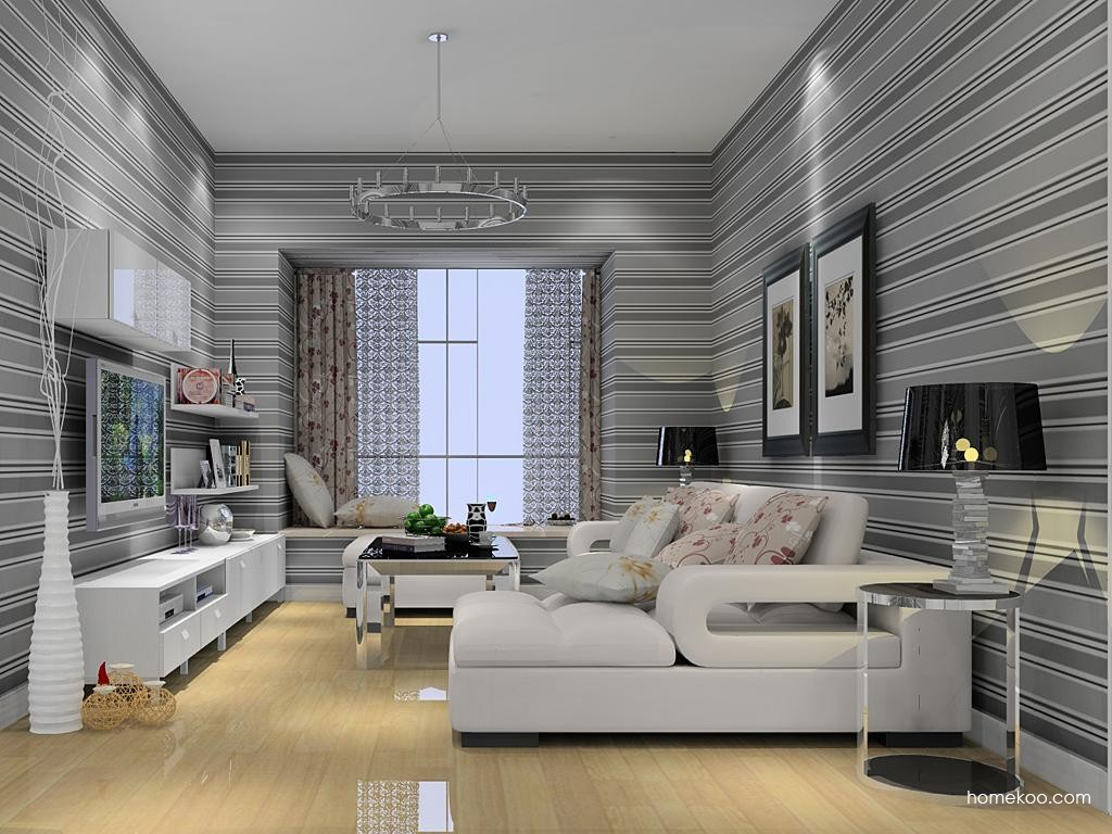 浪漫主义客厅家具D12163