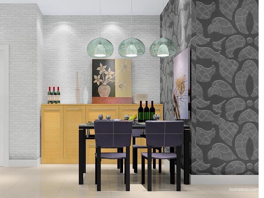 丹麦本色餐厅家具E10336