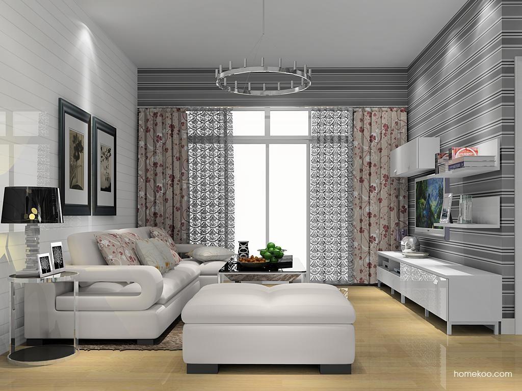 浪漫主义客厅家具D13415