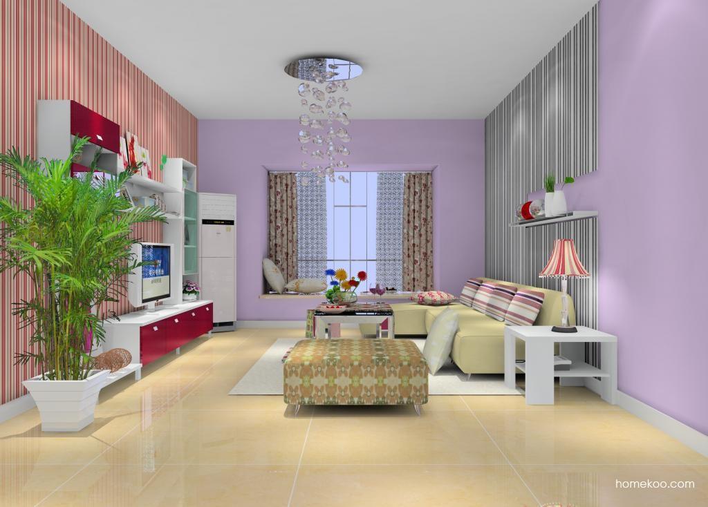 浪漫主义客厅家具D13560
