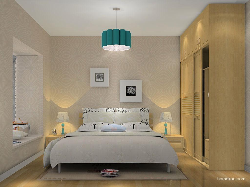 丹麦本色卧房家具A13984