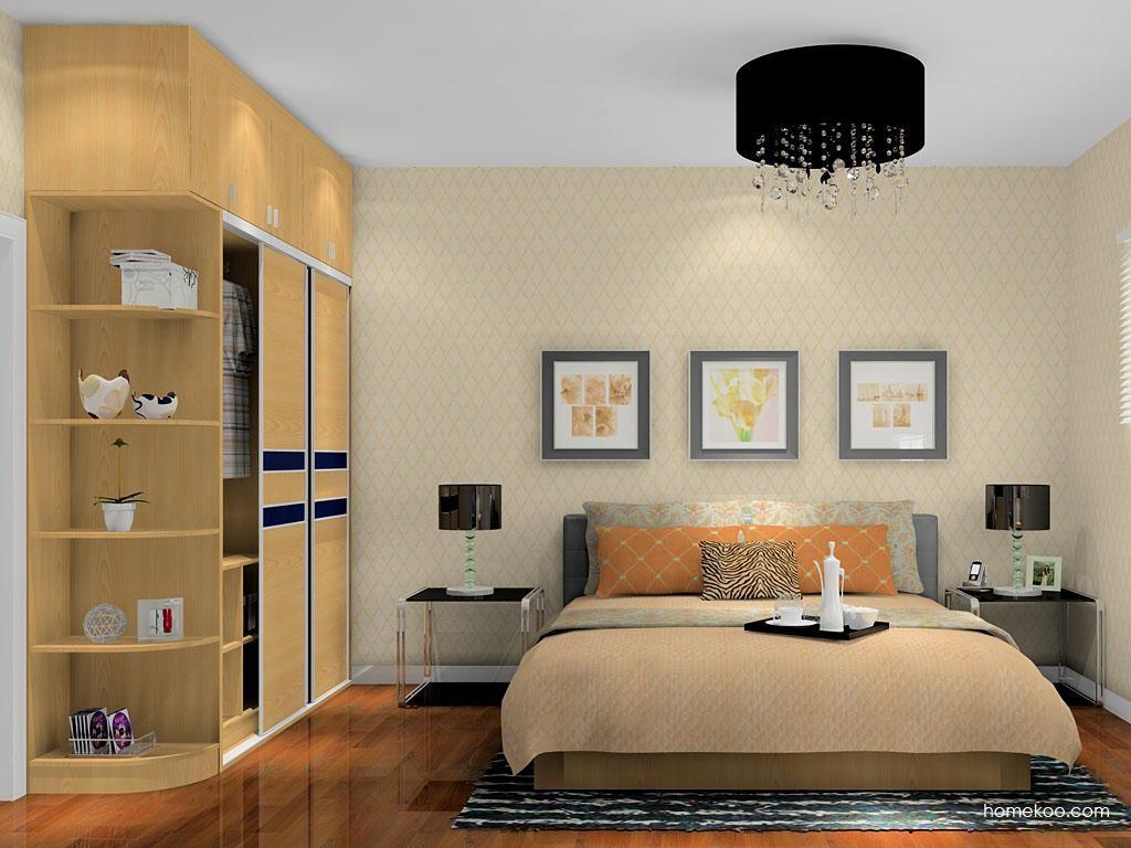 丹麦本色卧房家具A14087