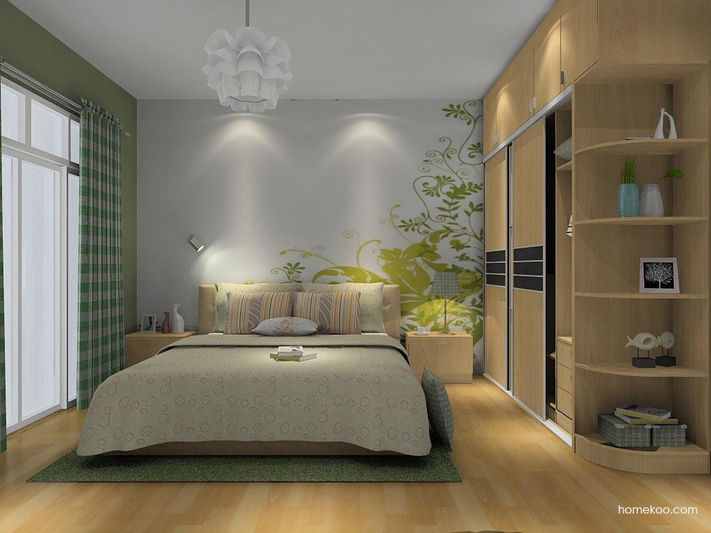 新实用主义卧房家具A14168