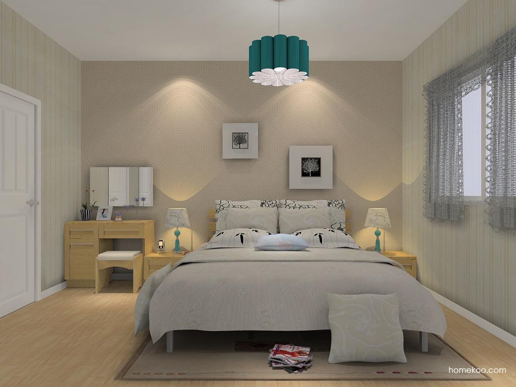 丹麦本色卧房家具A14167
