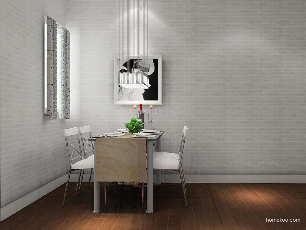 新实用主义餐厅家具E10849