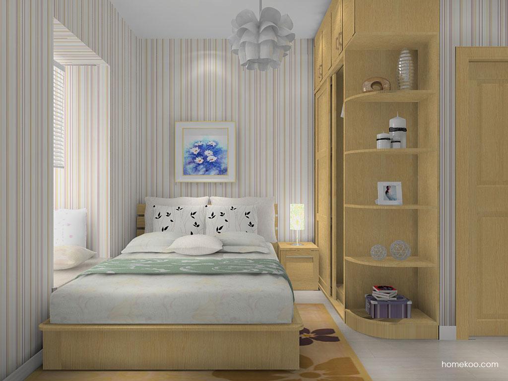 丹麦本色卧房家具A14306
