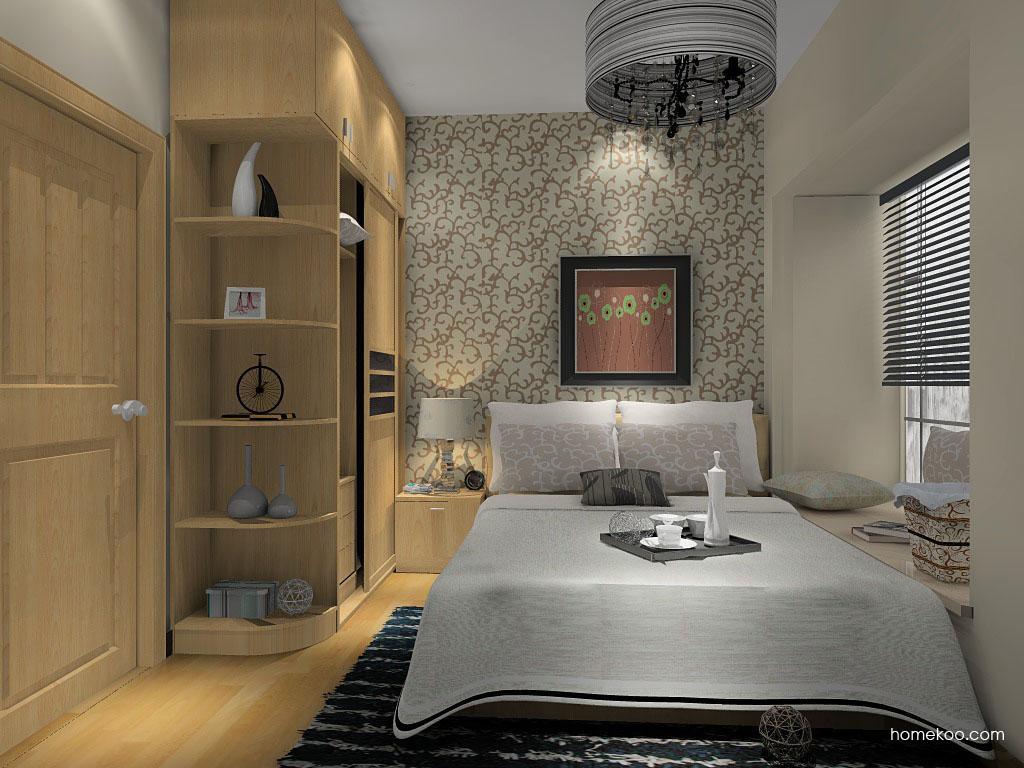新实用主义卧房家具A14320