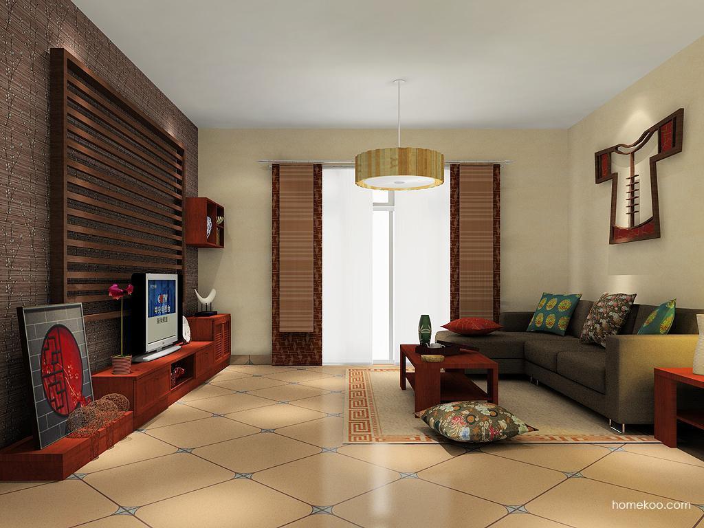 新中式主义客厅家具D13877