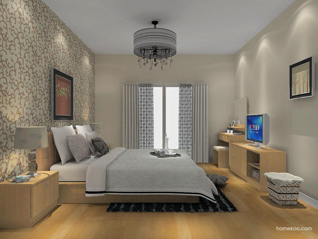新实用主义卧房家具A14342