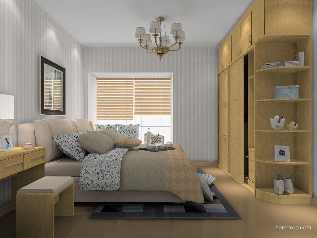 丹麦本色卧房家具A14357
