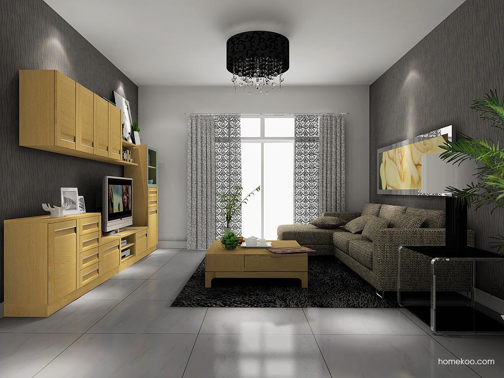 丹麦本色客厅家具D13937