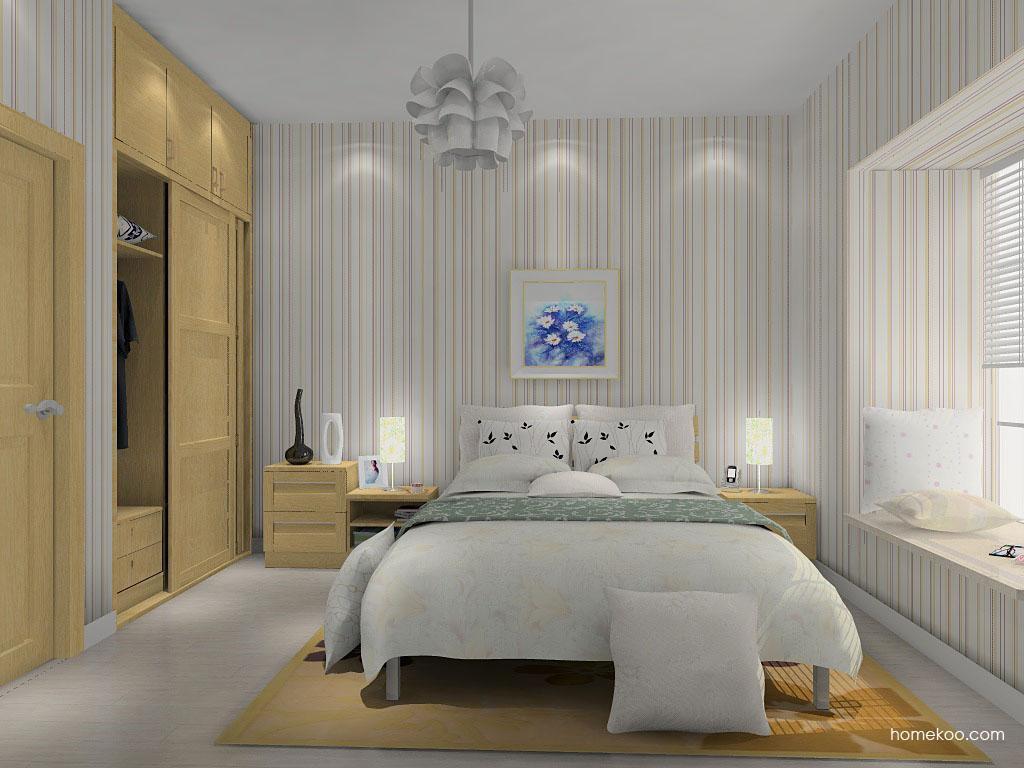 丹麦本色卧房家具A14502