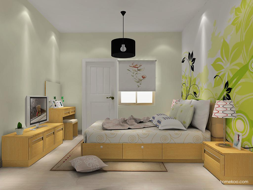丹麦本色卧房家具A14519