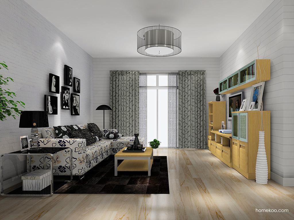丹麦本色客厅家具D13990