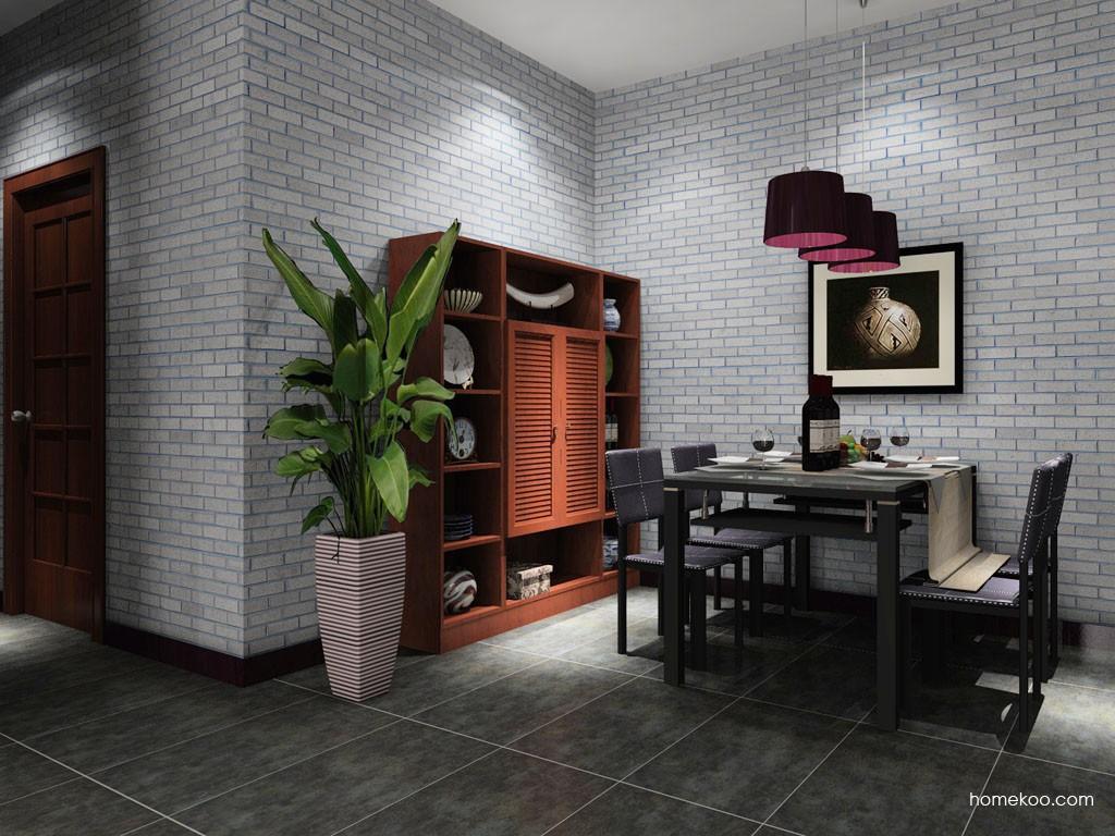 新中式主义餐厅家具E11018